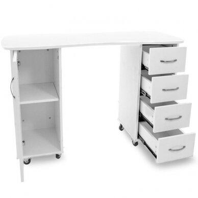 Manikiūro stalas CABINETS WHITE 3