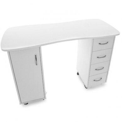 Manikiūro stalas CABINETS WHITE 4