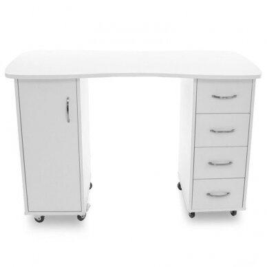 Manikiūro stalas CABINETS WHITE 7