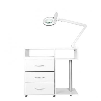Manikiūro stalas su įranga SET MAX 2