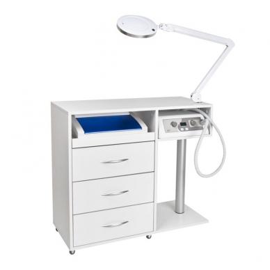 Manikiūro stalas su įranga SET MAX 5