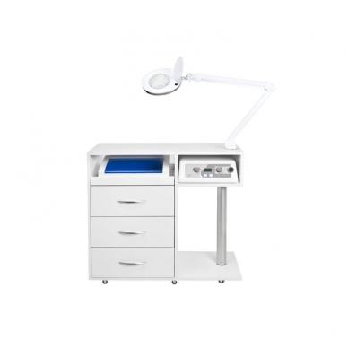 Manikiūro stalas su įranga SET MAX 6