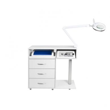 Manikiūro stalas su įranga SET MAX 7
