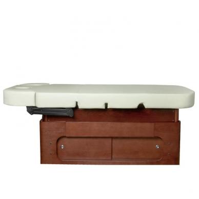Elektrinis masažo stalas AZZURRO SPA WOOD 4