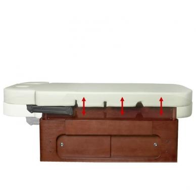 Elektrinis masažo stalas AZZURRO SPA WOOD 1 5