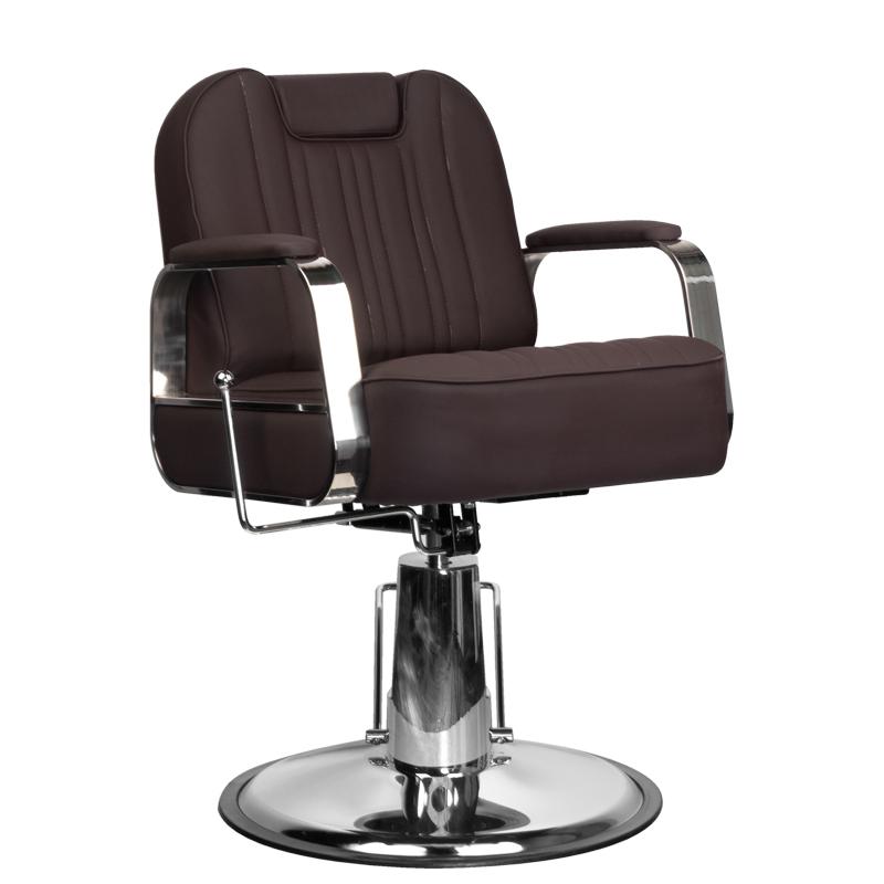 Kirpyklos kėdė HAIRDRESSING CHAIR BARBER BLACK