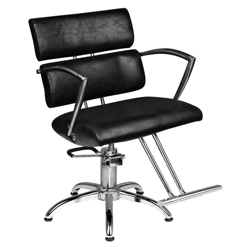 Kirpyklos kėdė HAIRDRESSING CHAIR 362 BLACK