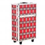 Makiažo lagaminas RED GRID