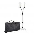 Kosmetologinė LED lempa makiažui 28W + krepšys