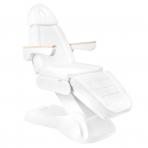 Kosmetologinis krėslas ELECTRIC LUX WHITE