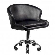 Meistara krēsls COSMETIC CHAIR LADY II BLACK