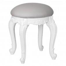 Krēsls uz cieta pamata AZURRO STYLISSIMO WHITE GREY