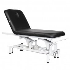 Elektrinis masažo stalas AZZURRO MASSAGE BED 1 MOTOR BLACK
