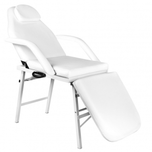 Kosmetologinis krėslas FOLDING CHAIR WHITE