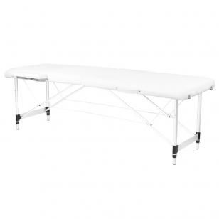 Saliekamais masāžas galds ALU COMFORT 2 WHITE