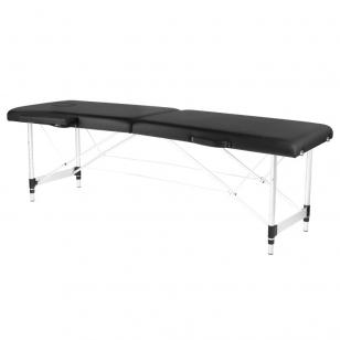 Saliekamais masāžas galds ALU COMFORT 2 BLACK