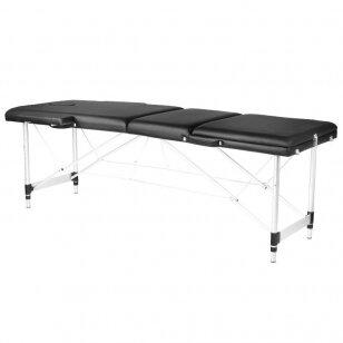 Saliekamais masāžas galds ALU COMFORT 3 BLACK