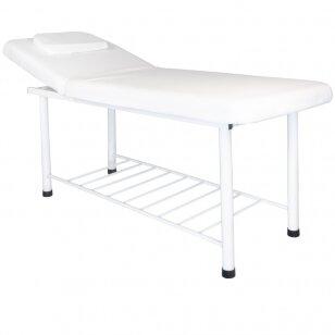 Stacionārs masāžas galds 812 (White)