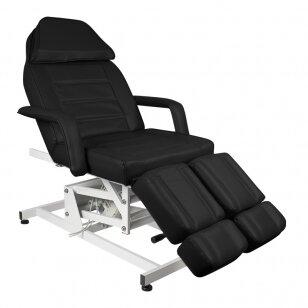 Kosmētikas krēsls AZZURRO ELECTRIC 1 MOTOR PEDI BLACK
