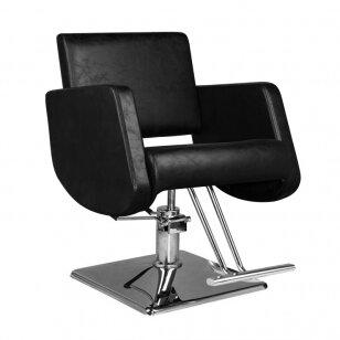 Kirpyklos kėdė HAIRDRESSING CHAIR 07 BLACK
