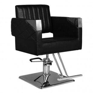 Frizieru krēsls HAIRDRESSING CHAIR 09 BLACK