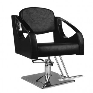 Kirpyklos kėdė HAIRDRESSING CHAIR 308 BLACK