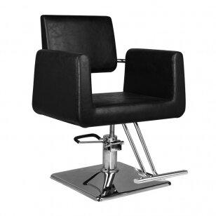 Frizieru krēsls HAIRDRESSING CHAIR 03 BLACK