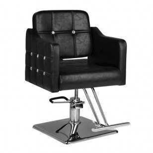 Frizieru krēsls HAIRDRESSING CHAIR 06 BLACK
