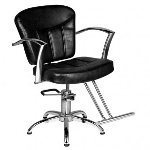 Kirpyklos kėdė HAIRDRESSING CHAIR 02 BLACK