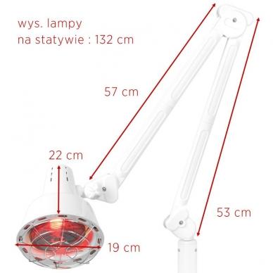 Infraraudonųjų spindulių lempa, 150W 6