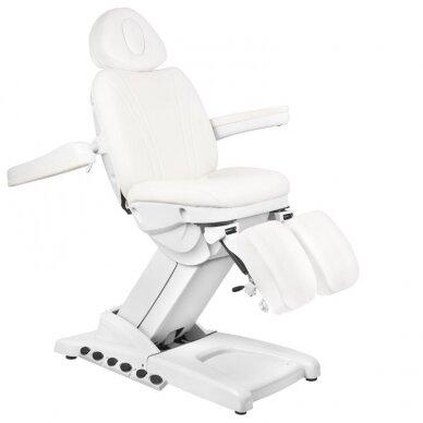 Kosmētikas krēsls AZZURRO PEDI PRO EXCLUSIVE 3 POWER WHITE 3