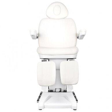Kosmētikas krēsls AZZURRO PEDI PRO EXCLUSIVE 3 POWER WHITE 7