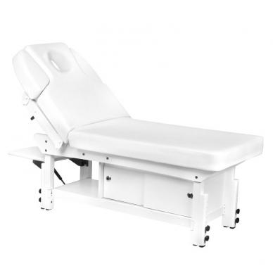 Elektrinis masažo stalas AZZURRO 376A WHITE  2