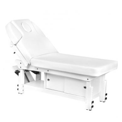 Elektrinis masažo stalas AZZURRO 376A WHITE  4