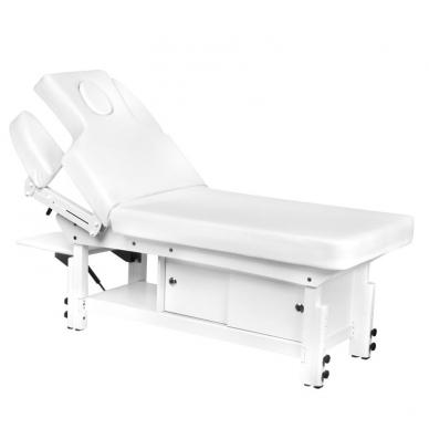 Elektrinis masažo stalas AZZURRO 376A WHITE  5