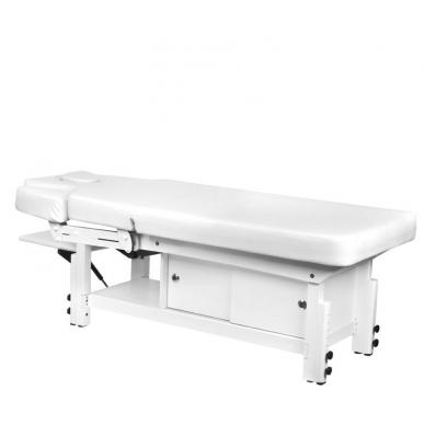 Elektrinis masažo stalas AZZURRO 376A WHITE  6