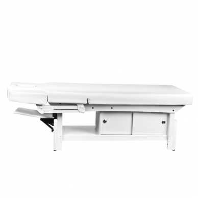 Elektrinis masažo stalas AZZURRO 376A WHITE  7