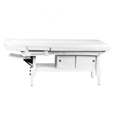 Elektrinis masažo stalas AZZURRO 376A WHITE  8