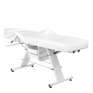 Kosmetologinis krėslas BASIC WHITE 4
