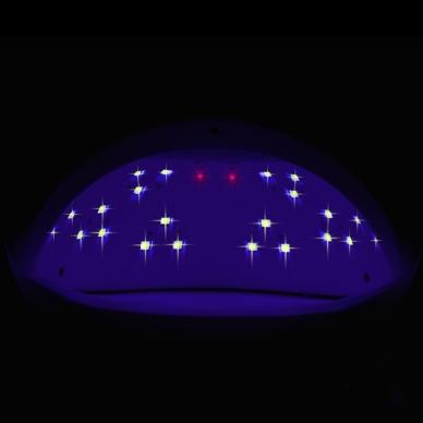 UV/LED nagų lempa 48W 6
