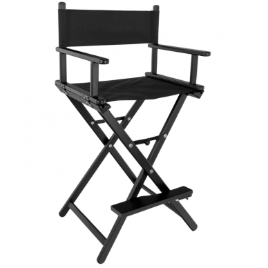 Makiažo kėdė MAKE-UP GLAMOR BLACK HEADREST 2