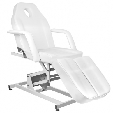 Kosmetologinis krėslas ELECTRIC PEDI WHITE 2