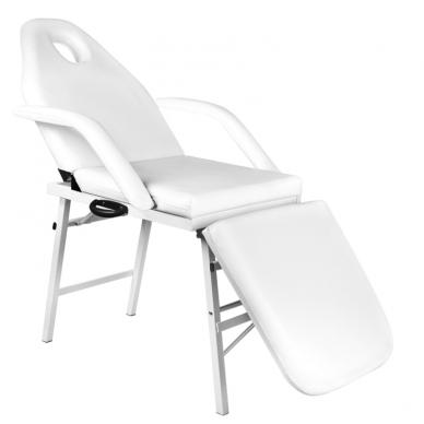 Kosmetologinis krėslas FOLDING CHAIR WHITE  2