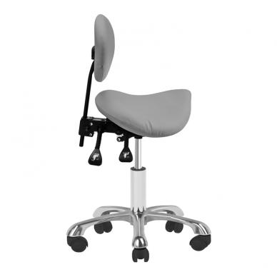 Meistro kėdutė COSMETIC STOOL GIOVANNI GRAY  3