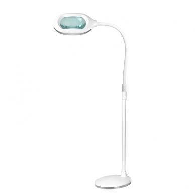 Kosmetologinė LED lempa su lupa 10W (pastatoma / tvirtinama) 6