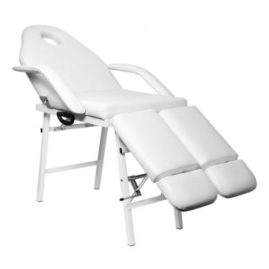 Kosmetologinis krėslas PEDI WHITE 2