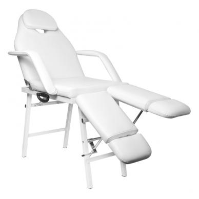 Kosmetologinis krėslas PEDI WHITE 3