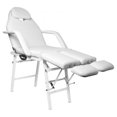 Kosmetologinis krėslas PEDI WHITE 4