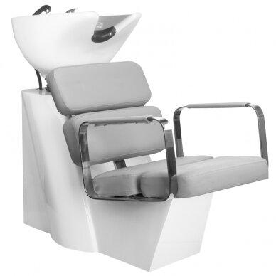 Juuksuri valamu GABBIANO PROFESSIONAL HAIRWASHER MULTIPLA GREY SEAT
