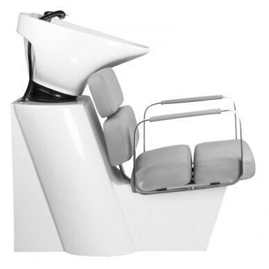 Juuksuri valamu GABBIANO PROFESSIONAL HAIRWASHER MULTIPLA GREY SEAT 4